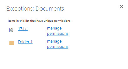 How to Find Unique Permissions in SharePoint for All Items