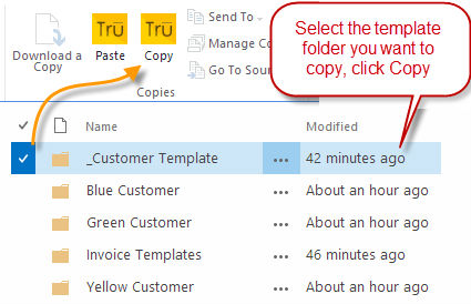 How to Copy and move files between sharepoint document
